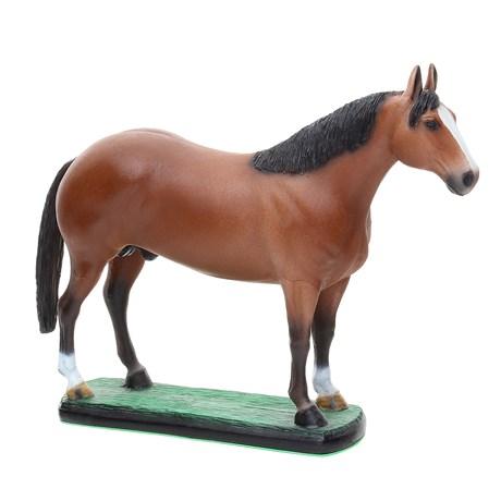 Escultura em Resina Cavalo Quarto de Milha Alazão Home Western Decor 25689