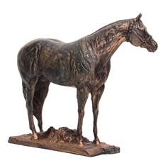 Escultura em Resina Cavalo Quarto de Milha Home Western Decor 25694