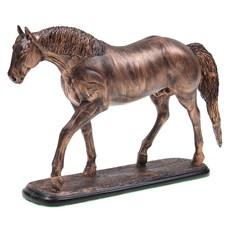 Escultura em Resina Cavalo Quarto de Milha Home Western Decor 27254