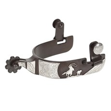 Espora Metalab 239086 Cowboy Collection Calf Roper Spurs Level 2