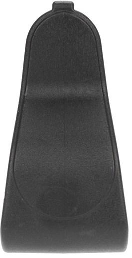 Estribo de Plástico Preto com Antiderrapante - VR 16492