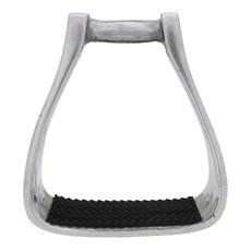 Estribo Quarto de Milha de Alumínio para Sela Bronc-Steel 22079