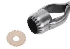 Faca Margarida 25mm para Couro - Bronc-Steel 17689