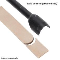 Faca U 25mm para Couro - Bronc-Steel 17676