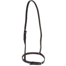 Fechador de Boca para Cavalo em Couro Marrom - Bronc-steel 18509