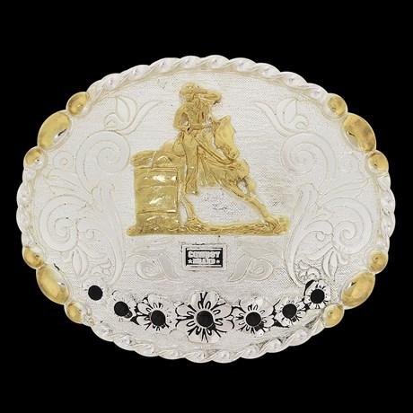 Fivela 3 Tambores Feminina Cowboy Brand 20087