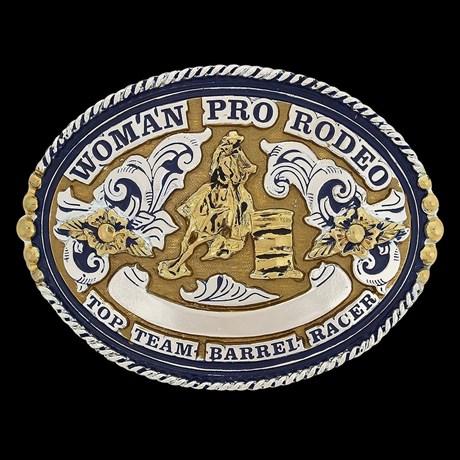Fivela 3 Tambores Woman Pro Rodeo - Master 19465
