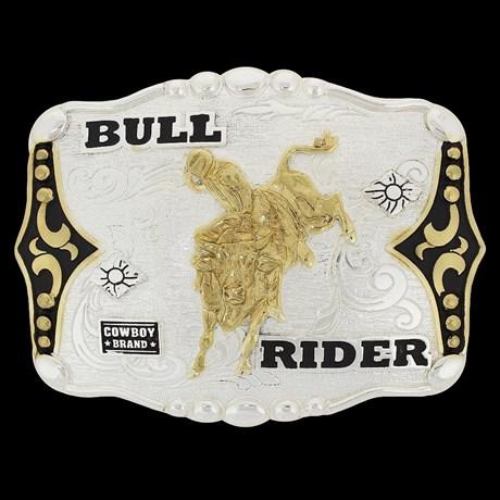 Fivela Bull Rider Cowboy Brand 20438