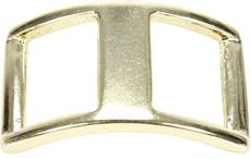 Fivela Canoa 42X27mm Dourada Rodeo West 21470