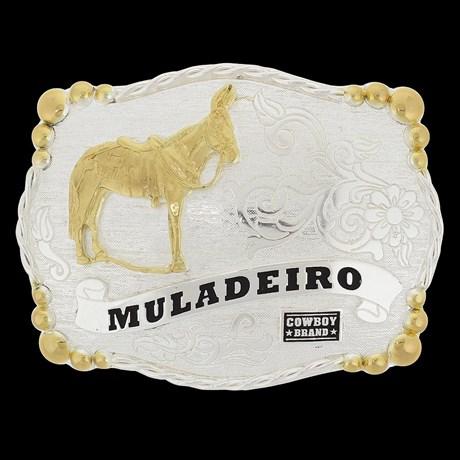 Fivela Country Muladeiro Cowboy Brand 20434