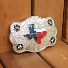 Fivela Country Prata Texas - Rodeo West 18926