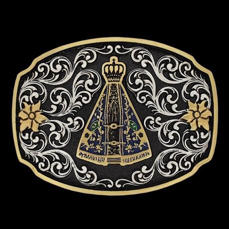 Fivela Country Sumetal Nossa Senhora Aparecida 21355
