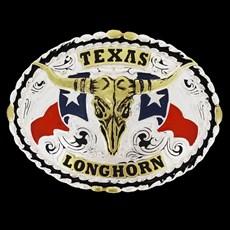 Fivela Country Texas Longhorn Master 23425
