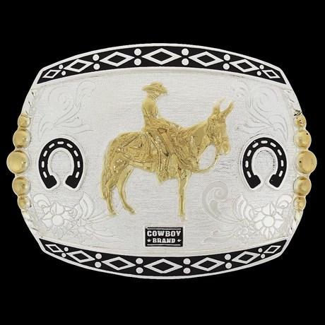 Fivela Cowboy Brand Muladeiro 20442