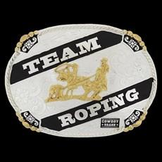 Fivela Cowboy Brand Team Roping 20433