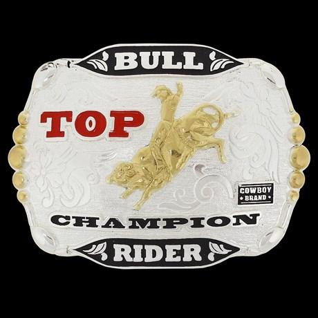 Fivela de Rodeio Cowboy Brand Top Champion 20432