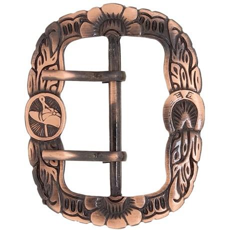 Fivela Guaiaca Cobre Rodeo West 20888