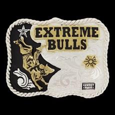 Fivela Infantil Montaria Touro Cowboy Brand 20089