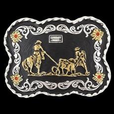 Fivela Laço em Dupla Cowboy Brand 26487