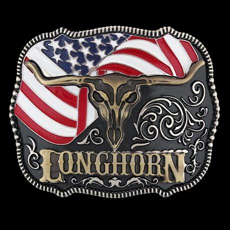 Fivela Longhorn Cow Way 24731