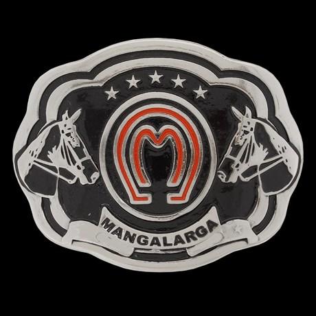 Fivela Mangalarga Preta Rodeo West 20892
