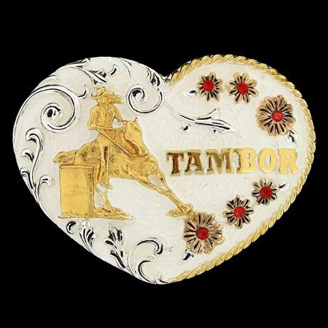 Fivela Master Premium Tambor com Strass