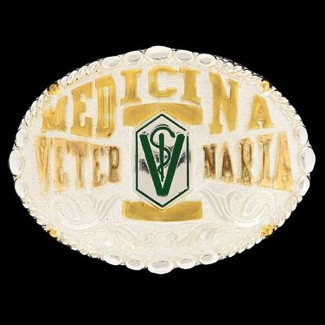 Fivela Medicina Veterinária - Master 9957