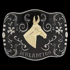 Fivela Muladeiro para Cinto Country Rodeo West 20760