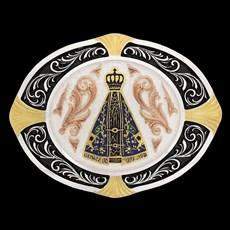 Fivela Nossa Senhora Aparecida Oval Sumetal 20326