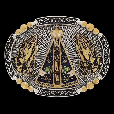 Fivela Nossa Senhora Aparecida Pelegrini 22554