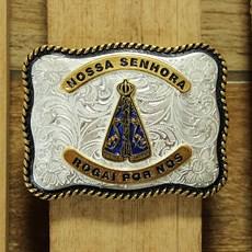 Fivela Nossa Senhora Aparecida Quadrada Paul Western 23508