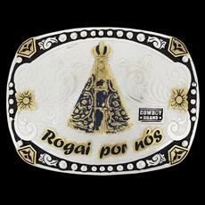 Fivela Nossa Senhora Rogai por Nós Cowboy Brand 20439