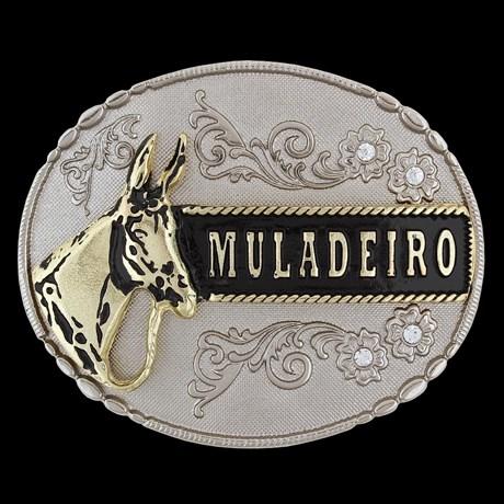 Fivela Oval Muladeiro Cow Way 24733