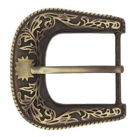 Fivela para Cinto Country Ouro Velho Rodeo West 20938