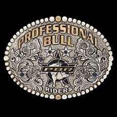 Fivela PBR Gold Series 3D Professional Bull Riders 19003