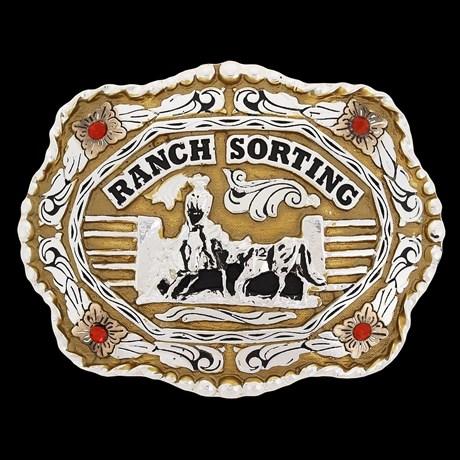 Fivela Ranch Sorting com Strass - Master 19466