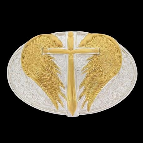 Fivela Sumetal com Banho Dourado Prata 18277