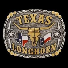 Fivela Texas Longhorn Pelegrini 22532