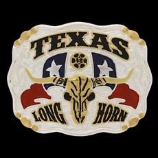 Fivela Texas Longhorn Pelegrini 22539