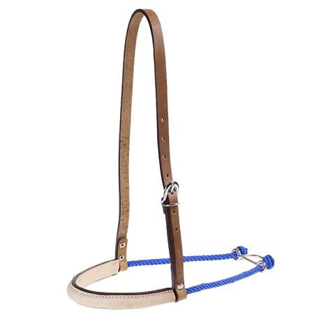 Gamarra de Couro e Peia Azul para Cavalo Pyramid Country 25397