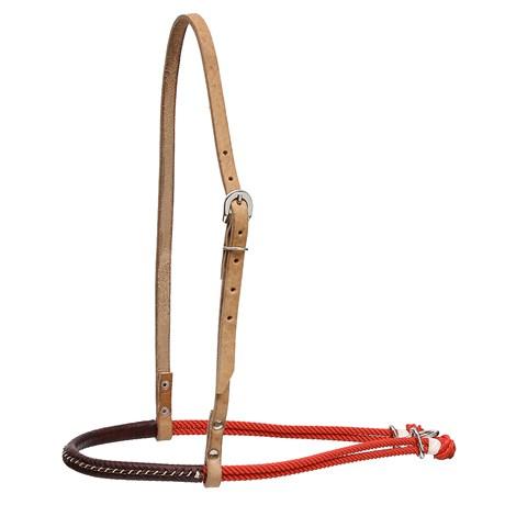 Gamarra para Cavalo de Couro e Peia Vermelha Rodeo West 28472