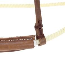 Gamarra para Cavalo Fabricada em Corda e Couro -  Top Equine 19259
