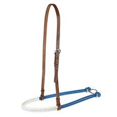 Gamarra para Cavalo Fabricada em Couro e Peia Azul - Rodeo West 16000