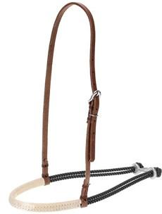 Gamarra para Cavalo Fabricada em Couro e Peia Preta - Top Equine 19261