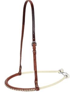 Gamarra para Cavalo Top Equine Couro e Corda 22159