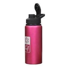 Garrafa Rosa de Alumínio 600ml Tuff 29695