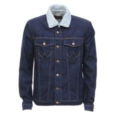 Jaqueta Jeans Masculina com Interior e Gola em Pelúcia Original Wrangler 29031
