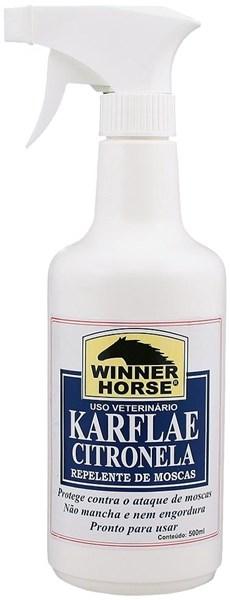 Karflae Citronela Repelente de Moscas com Pulverizador - Winner Horse 0923