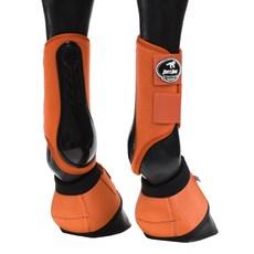 Kit Boots Horse Caneleira e Cloche Laranja 25849