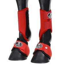 Kit Caneleira e Cloche Boots Horse Vemelha 25850